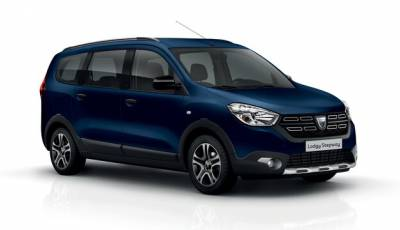 Dacia Lodgy 7 person is ready for big families. Just book and enjoy.