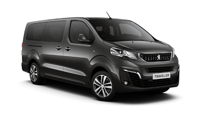 Peugeot Traveller Expert 8 + 1 minivan is ready for biggest families. Just book and enjoy.